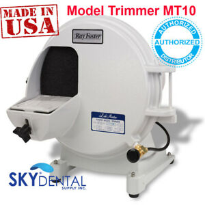 Model Trimmer Mt10 Ray Foster 1 3 Hp Motor 115v Dental Lab Og Swinging Door Fda