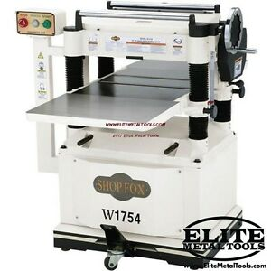 Woodstock W1754w Shop Fox 20 Planer With Built In Mobile Base