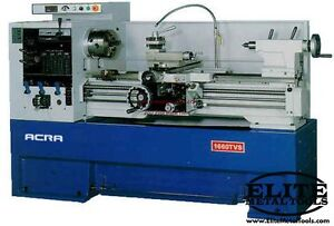 Acra Variable Speed Lathe 16x40tvs