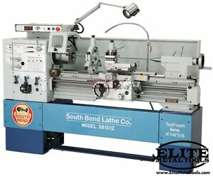 South Bend 14 X 40 Variable Speed Toolroom Lathe Sb1013