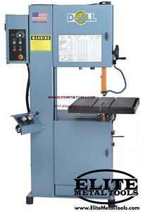 Doall Vertical Contour Band Saw 2012 vh