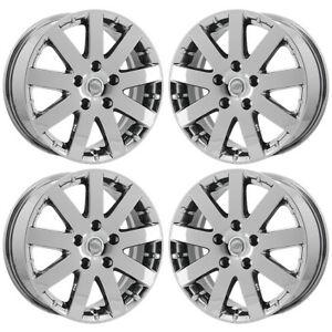 17 Chrysler Town Country Pvd Chrome Wheels Rims Factory Oem Set 2332 Exchange