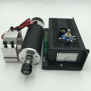 Dc Spindle Motor Kit 600w 300w 450w 400w 500w Mount Bracket power Supply Set Cnc