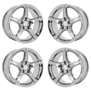 19 Buick Lacrosse Pvd Chrome Wheels Rims Factory Oem Set 4 2017 2018