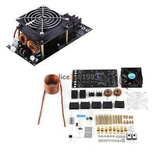 Dc12 36v 1000w 20a Zvs Tesla Induction Heating Board Heater Cooling Fan Diy Kit