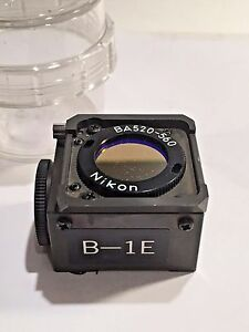 Nikon B 1e Fitc Fluor Filter Block 18mm For Labophot optiphot tmd Microscopes