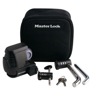Master Lock 3794dat Trailer Coupler Receiver And Trailer Coupler Latch Lock