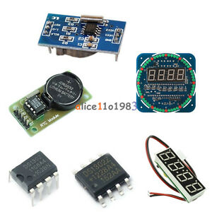 Rtc Ds1302 Real Time Clock Module Sop 8 Dip 8 For Arduino Avr Arm Than Ds1307