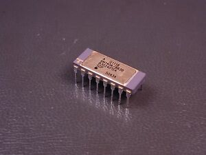 8302401ea Avago High Gain Optocoupler 1 5kv 16 Pin 6n140a 883b Nos