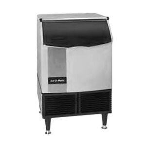 Ice o matic Iceu226hw Water Cooled 232lb 24hr Undercounter Cube Ice Maker
