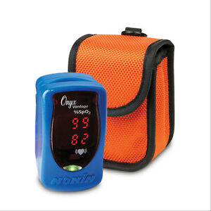 Onyx Vantage Pulse Ox With Protective Sleeve 1 Ea