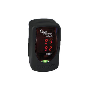 Onyx Vantage Pulse Ox Black 1 Ea