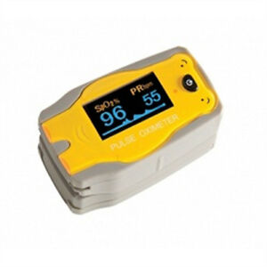 Pediatric Finger Pulse Oximeter Bear 1 Ea