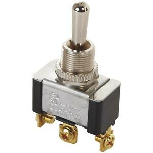 Double Throw Toggle Switch
