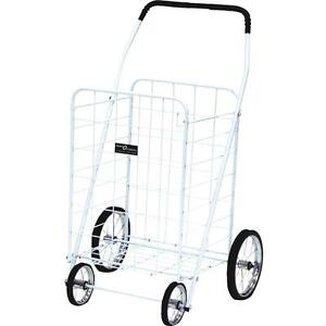 Narita Trading Jumbo Wht Shopping Cart