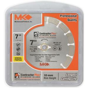 Mk Diamond 7 Seg Diamond Blade