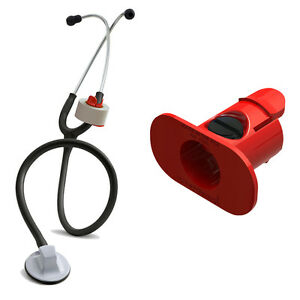 S3 Stethoscope Tape Holder red Littmann Adc Nurse Paramedic Ems Nursing Gift
