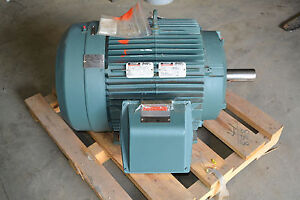 Reliance 841xl 60hp Electric Motor Severe Duty 460v 3ph 1780rpm 364t Frame