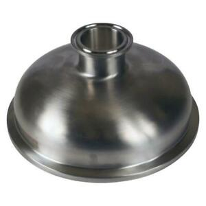 Bowl Reducer Tri Clamp 6 X 1 5 Sanitary Stainless Steel Ss304
