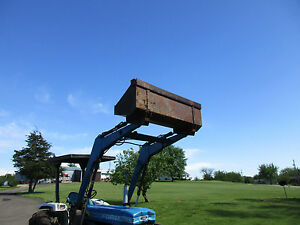 New Holland 1910 Loader New Bucket This Is Loader Bucket Only No Tractor