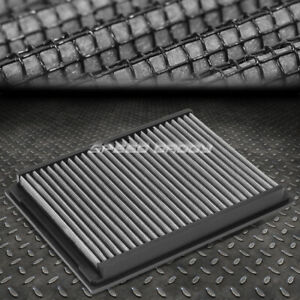 For 99 06 Bmw E46 3 series Silver Reusable washable High Flow Drop In Air Filter