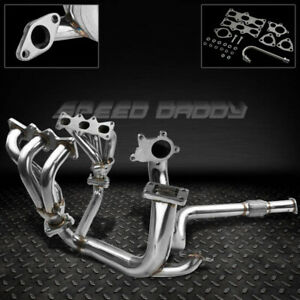 For 93 97 Ford Probe Mx6 V6 T3 Stainless Racing Turbo Manifold Downpipe Exhaust