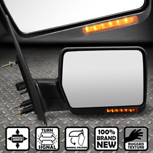 For 04 14 Ford F150 Foldable Arm turn Signal Towing Tow Mirror Right passenger