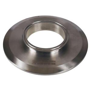 End Cap Reducer Tri Clamp clover 8 Inch X 4 Sanitary Ss304