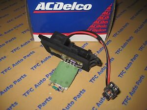 Chevy Silverado Sierra Tahoe Suburban Updated Blower Motor Resistor Oem New