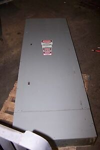 Square D 400 Amp Main Breaker I line Panelboard 480y 277 Vac 54 Circuit 3 Phase