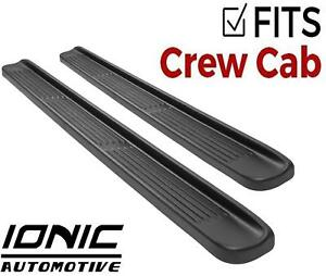 Ionic Oe Style Fits 2009 2013 Dodge Ram Crew Cab Nerf Bars Running Boards Steps