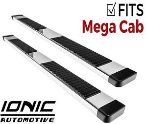 Ionic 51 Series Brite Fits 2010 2013 Dodge Ram Mega Cab Running Boards Steps