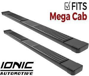 Ionic 51 Series Black fits 2010 2013 Dodge Ram Mega Cab Running Boards Steps