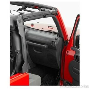 Door Surround Set Fits Jeep Wrangler Jk 2 Door Bestop 55010 01