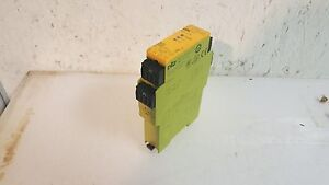 Pilz Safety Relay Module Pnoz e3 1p 24vdc 2so Used Warranty