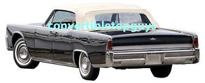 Lincoln Continental Convertible Top Package 1964 1965
