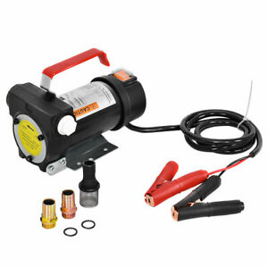 Dc 12v 10gpm 155w Electric Diesel Oil And Fuel Transfer Extractor Pump Motor
