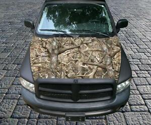 Obliteration Camo Vinyl Graphic Decal Hood Wrap For Truck Or Car