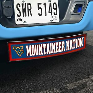West Virginia Wvu Mountaineer Nation Light Up Trailer Hitch Receiver Cover