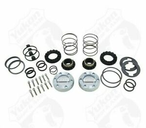 Yukon Hardcore Locking Hub Set For Gm 8 5 Inch Front And Dana 44 19 Spline Yukon