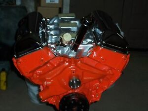 1961 Chevy 348 Ss s Matching remanufactured Engine