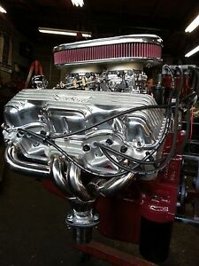 1962 Chevy 409 427 S Matching Remanufactured Engine