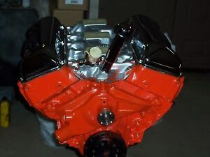 1960 Chevy 348 S Matching Remanufactured Engine
