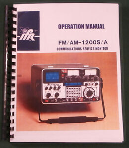 Ifr Fm am 1200s a Communications Monitor Operation Manual