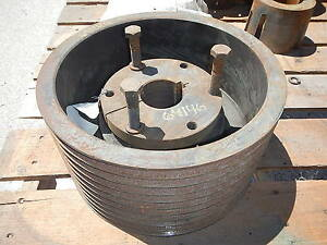 10 Groove V Belt Pulley Sheave 13 1875 Od