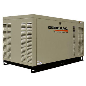 Generac Qt08046x Commercial Series 80kw Lp ng Standby Backup Power Generator