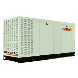 Generac Qt07068c Commercial Series 70kw Lp ng Standby Backup Power Generator