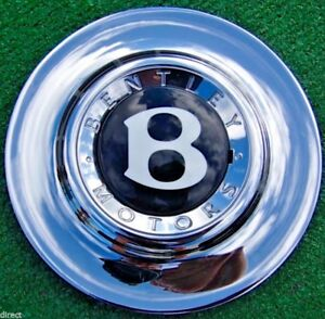 Genuine Oem Factory Bentley Azure Arnage Chrome 19 Inch Wheel Center Cap Centre