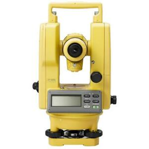 Topcon Dt 209l Horizontal And Vertical Digital Theodolite W Laser 303217141