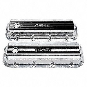 Edelbrock 4275 Elite Ii Valve Covers 1965 Later Big Block Chevy 396 454